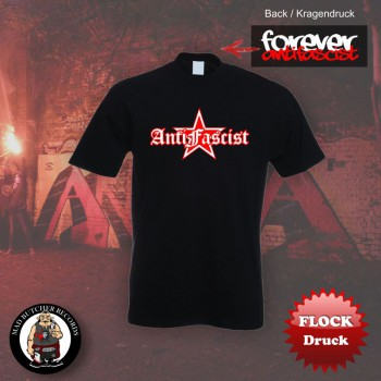 ANTIFASCIST STAR T-SHIRT