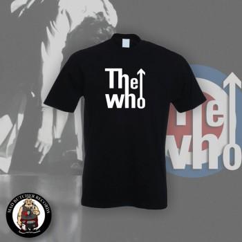 THE WHO B/W LOGO T-SHIRT