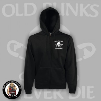 OLD PUNKS NEVER DIE ZIPPER