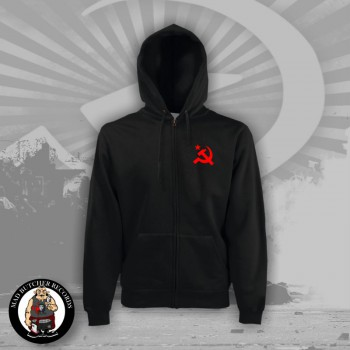 HAMMER & SICKLE ZIPPER S