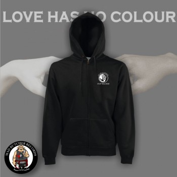 LOVE HAS NO COLOUR ZIPPER 3XL