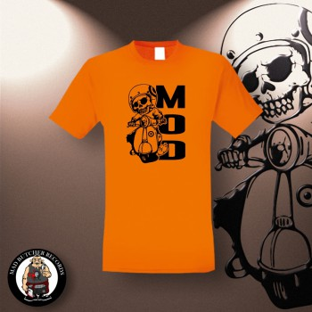 MOD SCOOTER T-SHIRT L / ORANGE
