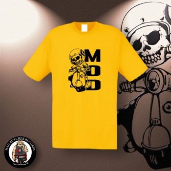 MOD SCOOTER T-SHIRT L / yellow
