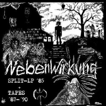 Nebenwirkung – Split- LP '85 + tapes '87 - '90 LP