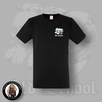 OLD SCHOOL SMALL T-SHIRT SCHWARZ / S