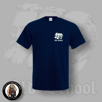 OLD SCHOOL SMALL T-SHIRT S / NAVY