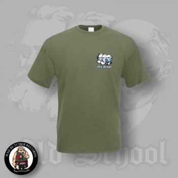 OLD SCHOOL SMALL T-SHIRT S / OLIVE