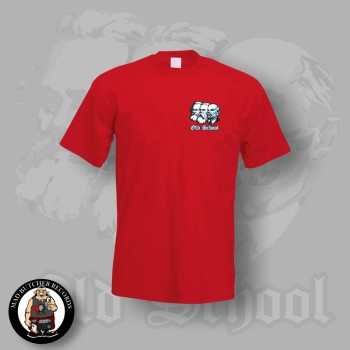 OLD SCHOOL SMALL T-SHIRT S / ROT