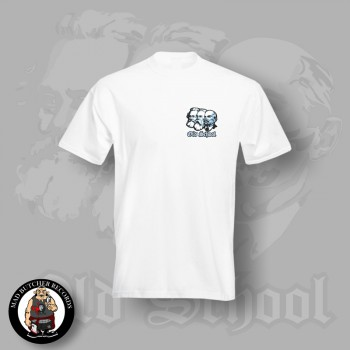 OLD SCHOOL SMALL T-SHIRT S / WEISS