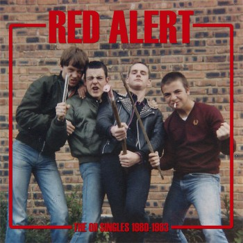 "RED ALERT ""SINGLES 80/83"" LP"