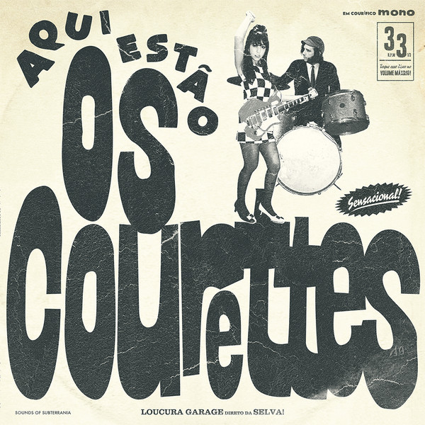 COURETTES, THE Here are the Courettes 10