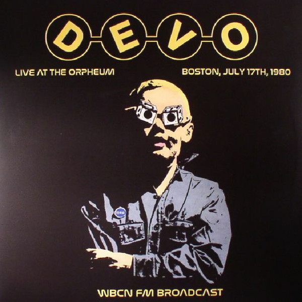 Devo Freedom Of Choice Live At The Orpheum Boston 1980 LP