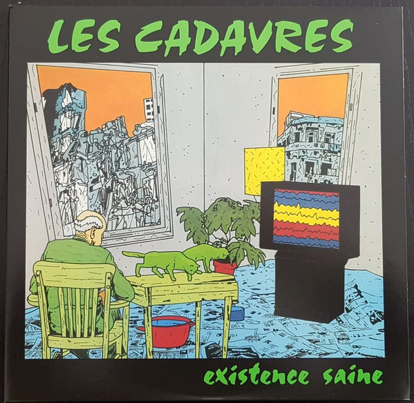 LES CADAVRES Existence Saine LP