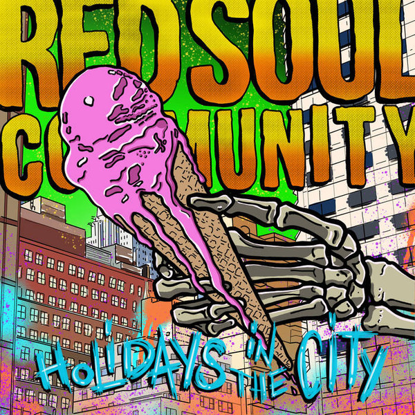 Red Soul Community ‎– Holidays In The City LP