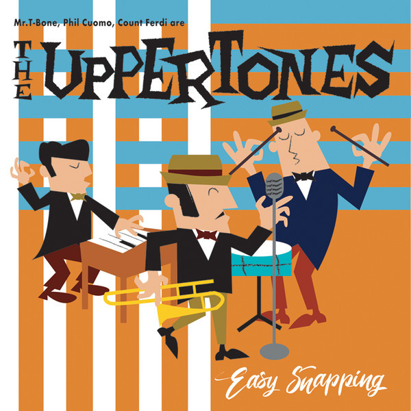 THE UPPERTONES EASY SNAPPING LP