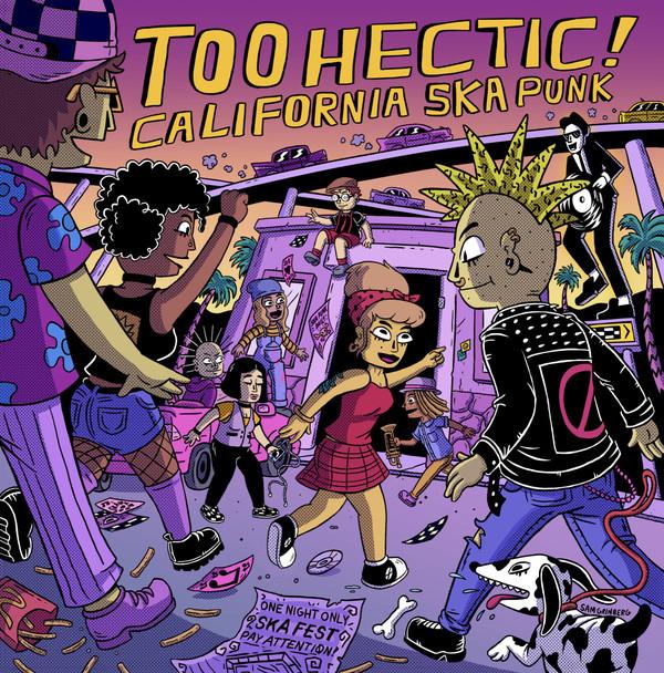 Various Too Hectic! California Ska Punk LP
