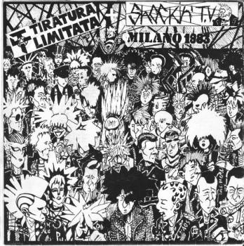 SHOCKIN' TV / TIRATURA LIMITATA Split EP