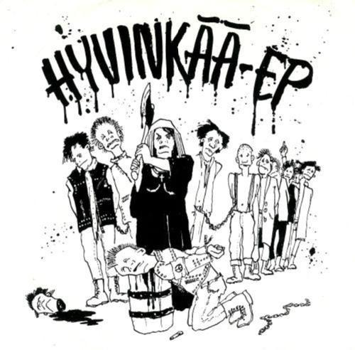 VA: Hyvinkää EP Finnland KBD Punk/HC