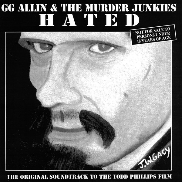GG Allin & The Murder Junkies ‎– Hated LP