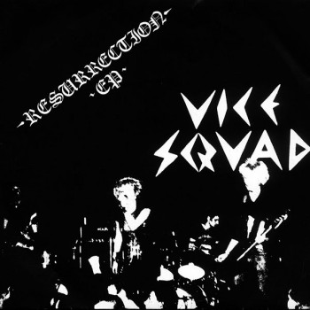 VICE SQUAD RESURRACTION EP VINYL SCHWARZ