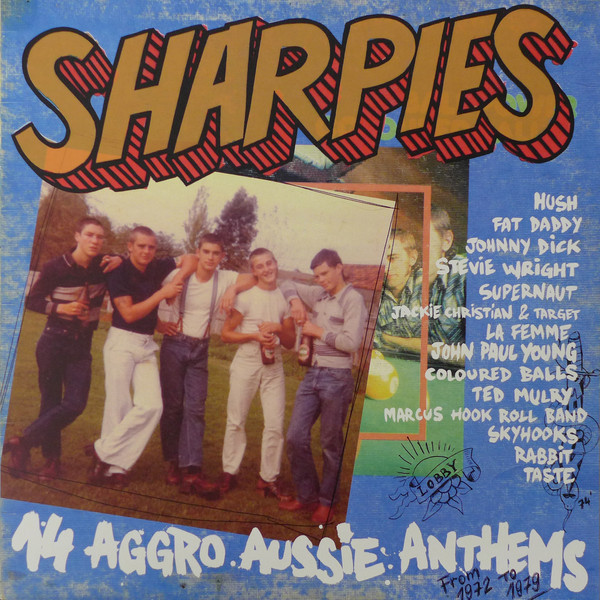 Various – Sharpies (14 Aggro Aussie Anthems From 1972 To 1979) LP