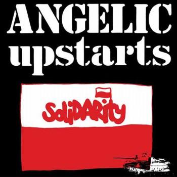ANGELIC UPSTARTS SOLIDARITY EP VINYL BLACK