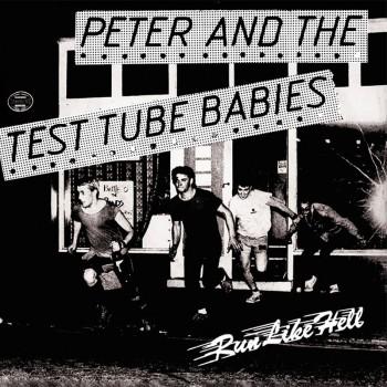 PETER & THE TTB RUN LIKE HELL 7 VINYL SCHWARZ