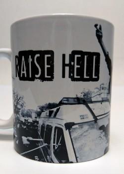 RAISE HELL MUG