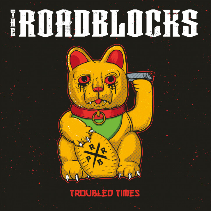 THE ROADBLOCKS TROUBLED TIMES LP + CD