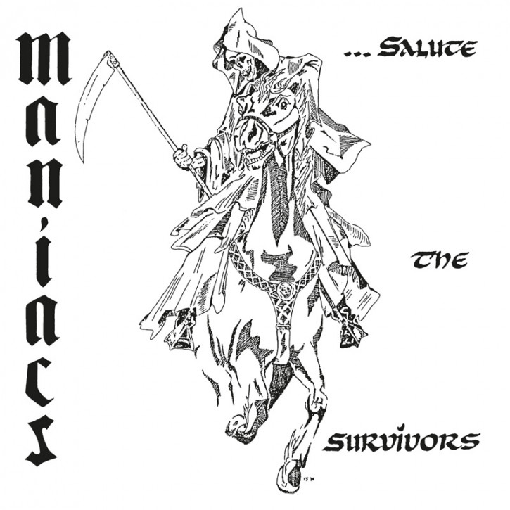 MANIACS SALUTE THE SURVIVORS EP VINYL RED