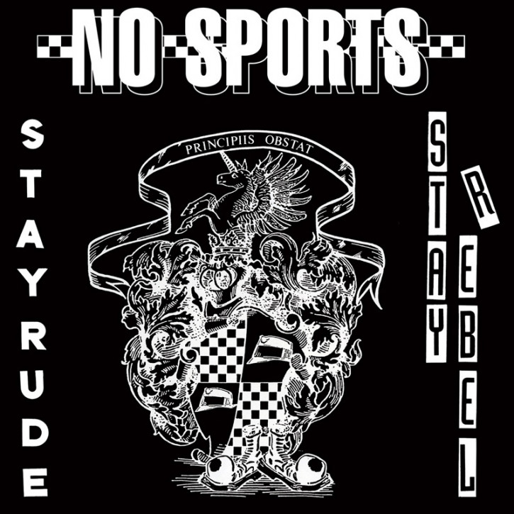 NO SPORTS STAY RUDE STAY REBEL EP VINYL SCHWARZ