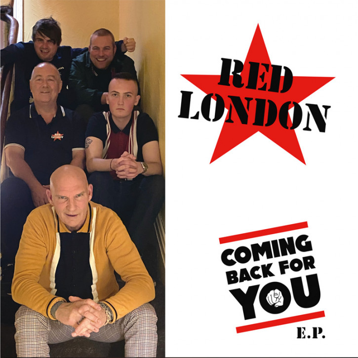 RED LONDON COMING BACK FOR YOU 12 + CD VINYL SCHWARZ