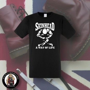 SKINHEAD A WAY OF LIFE T-SHIRT SCHWARZ / L