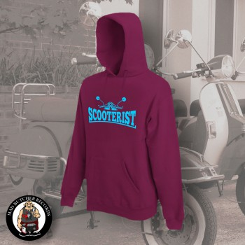 SCOOTERIST KAPU XL / BORDEAUX ROT