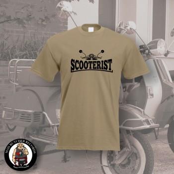 SCOOTERIST T-SHIRT L / BEIGE
