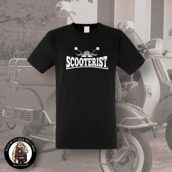 SCOOTERIST T-SHIRT SCHWARZ / M