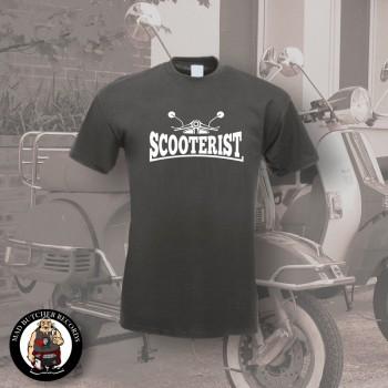 SCOOTERIST T-SHIRT XL / DUNKELGRAU