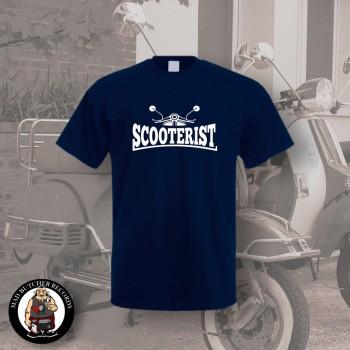 SCOOTERIST T-SHIRT L / NAVY