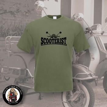 SCOOTERIST T-SHIRT L / OLIVE
