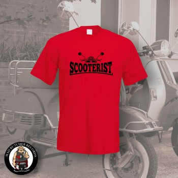 SCOOTERIST T-SHIRT S / ROT
