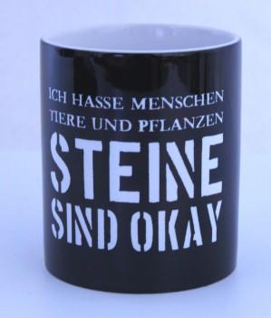 STEINE SIND OK KAFFEEBECHER