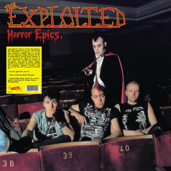 The Exploited ‎– Horror Epics. LP