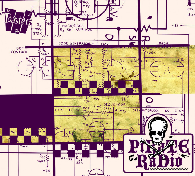 TOASTER PIRATE RADIO LP