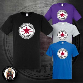 ANTIFASCIST ALLSTARS RED STAR T-SHIRT