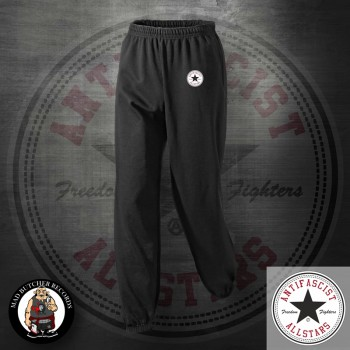 ANTIFASCIST ALLSTARS JOGGER XL / BLACK