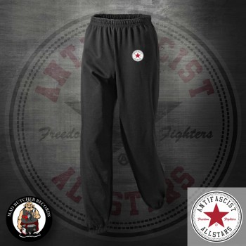 ANTIFASCIST ALLSTARS JOGGER XL / RED