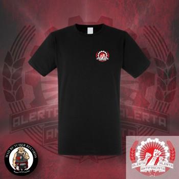 ALERTA ANTIFASCISTA T-SHIRT Black / XL