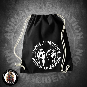 ANIMAL LIBERATION HUMAN LIBERATION GYM SAC