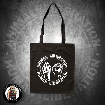 ANIMAL LIBERATION HUMAN LIBERATION BAG