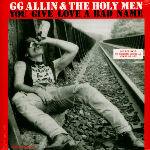 G.G. Allin You Give Love A Bad Name LP